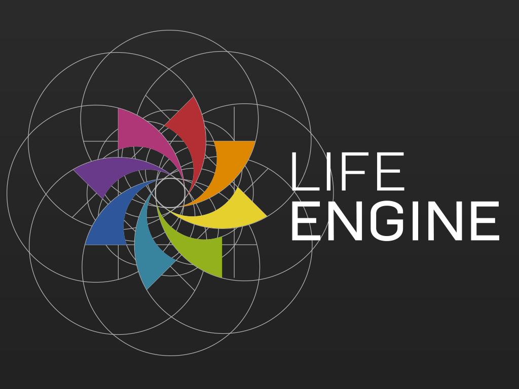 ライフエンジン ロゴ